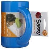 SASSY Soft Touch Rinse Cup - Blue [SS 10020] (Merchant) - Baby Bath Tub and Accesories
