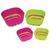 SASSY Stack N Serve Feeding Bowl Set - Perlengkapan Makan dan Minum Bayi