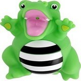 SASSY Stay Clean Bath Squirter Single Pack Crocodile - Baby Bath Toy