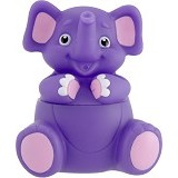 SASSY Stay Clean Bath Squirter Single Pack Elephant - Baby Bath Toy