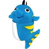SASSY Stay Clean Bath Squirter Single Pack Fish - Baby Bath Toy