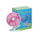 SATOO Portable Mini Fan With Rotation [SMF-S7] - Pink (Merchant) - USB & Portable Fan