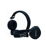 SATOO Stylish Headset with Clear Sound [SHS-XB07] - Black (Merchant) - Headphone Portable