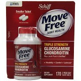 SCHIFF Move Free Advanced Triple Strength Plus Chondroitin 170 Tablet Kecil [SGTS170C] - Suplement Peningkat Metabolisme Tubuh