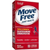 SCHIFF Move Free Joint Health 80 Coated Tablets [SMFHJ80C] - Suplement Peningkat Metabolisme Tubuh