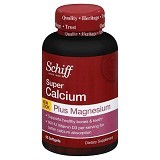 SCHIFF Super Calcium Magnesium with Vitamin D 800 IU 90 Softgels [SCHCMVD90C] - Suplement Peningkat Metabolisme Tubuh