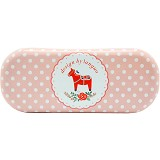 SCOOP PRODUCTS Eye Glasses Case - Pink Polkadot (V)