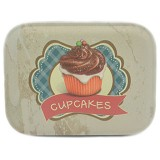 SCOOP PRODUCTS Tin Box Cupcake Chocolate (V) - Container