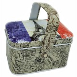 SCOOP PRODUCTS Tin Box Hanger Eiffel (V) - Container