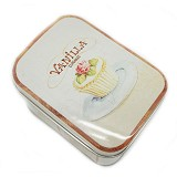 SCOOP PRODUCTS Tin Box Vanilla Cupcakes (V) - Container