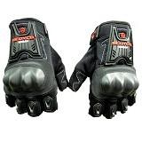 SCOYCO Half Finger [MC-12D] - Hitam - Sarung Tangan Motor