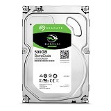 SEAGATE Barracuda 500GB [ST500DM009] - Hdd Internal Sata 3.5 Inch
