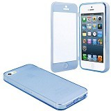 SECIUS Flip Case for iPhone 4/4S - Blue - Casing Handphone / Case