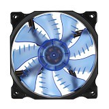 SEGOTEP Fan Casing LED Hydro Bearing 12cm [YF-12] - Blue - Kipas Komputer