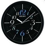 SEIKO Jam Dinding 30cm [QXA547] - Black - Jam Dinding