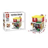 SEMBO SD6012 M Happy Every Day [305002489] (Merchant) - Building Set Architecture