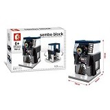 SEMBO SD6047 Camera Shop [305002778] (Merchant) - Building Set Architecture
