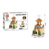 SEMBO SD6519 The Church [305002810] (Merchant) - Building Set Architecture