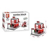SEMBO SD6606 Coke House Small [305002805] (Merchant) - Building Set Architecture