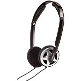 SENNHEISER Portable Headphone [PX 80] - Black - Headphone Portable