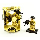 SHENG YUAN Bricks S Falcon Commandos [11209] - Building Set Occupation