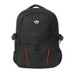 SHICATA Tas Ransel [1-2984] - Black Red (Merchant) - Notebook Backpack