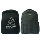 SHICATA Tas Ransel Laptop Raincoat [8-2982a] - Hitam (Merchant) - Notebook Backpack