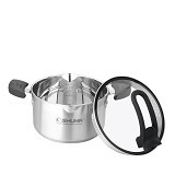 SHUMA Stainless Steel Dutch Oven Elena - 22 cm 3.5 L - Panci