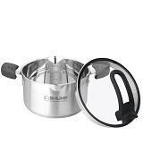 SHUMA Stainless Steel Dutch Oven Elena - 24 cm 4.0 L - Panci