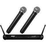 SHURE Dual Vocal Wireless System [SVX288/PG58] - Microphone System