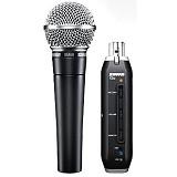 SHURE SM58+X2u - Microphone Live Vocal