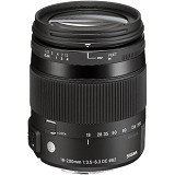 SIGMA 18-200mm F3.5-6.3 DC Macro for Canon (Merchant) - Camera Slr Lens