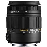 SIGMA 18-250mm F3.5-6.3 DC Macro OS HSM for Nikon (Merchant) - Camera Slr Lens