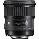 SIGMA 24mm F1.4 DG HSM Art for Canon (Merchant) - Camera Slr Lens