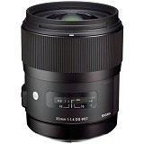SIGMA 35mm f/1.4 DG HSM for Canon - Camera Slr Lens