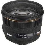 SIGMA 50mm f/1.4 EX DG HSM for Nikon - Camera Slr Lens