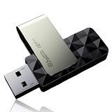 SILICON POWER Blaze 16GB [B30] - Black - Usb Flash Disk Basic 3.0
