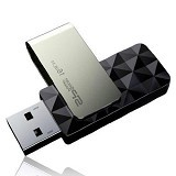 SILICON POWER Blaze 8GB [B30] - Black - Usb Flash Disk Basic 3.0