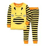 SKIP HOP ZooJamas Little Kid Pajamas Bee [SH279730-2T] (Merchant) - Setelan / Set Bepergian/Pesta Bayi dan Anak