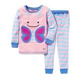 SKIP HOP ZooJamas Little Kid Pajamas Butterfly [SH279730-2T] (Merchant) - Setelan / Set Bepergian/Pesta Bayi dan Anak