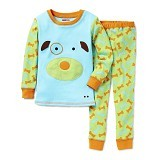SKIP HOP ZooJamas Little Kid Pajamas Dog [SH279740-4T] (Merchant) - Setelan / Set Bepergian/Pesta Bayi dan Anak