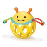 SKIP HOP Roll Around Rattles Bee - Learning and Growing