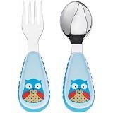 SKIP HOP Zoo Utensils Owl [252353] - Perlengkapan Makan dan Minum Bayi