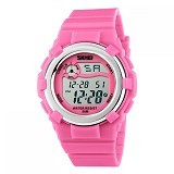 SKMEI Children Sport Silicone LED Watch [DG1161] - Pink (Merchant) - Miniature Watch