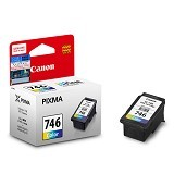 CANON Color Ink Cartridge [CL-746] - Tinta Printer Canon