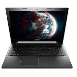 LENOVO IdeaPad Z50-75 Non Windows [80EC00C3ID] - Black - Notebook / Laptop Consumer Amd Quad Core