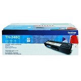 BROTHER Cyan Ink Cartridge [TN-348 C] - Toner Printer Brother