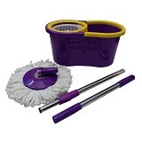 KENZA Spin Mop - Purple Yellow