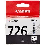 CANON Black Ink Cartridge [CLI726BK] - Tinta Printer Canon