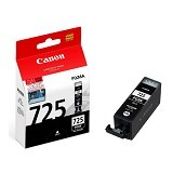 CANON Black Ink Cartridge [PGI725PBK] - Tinta Printer Canon
